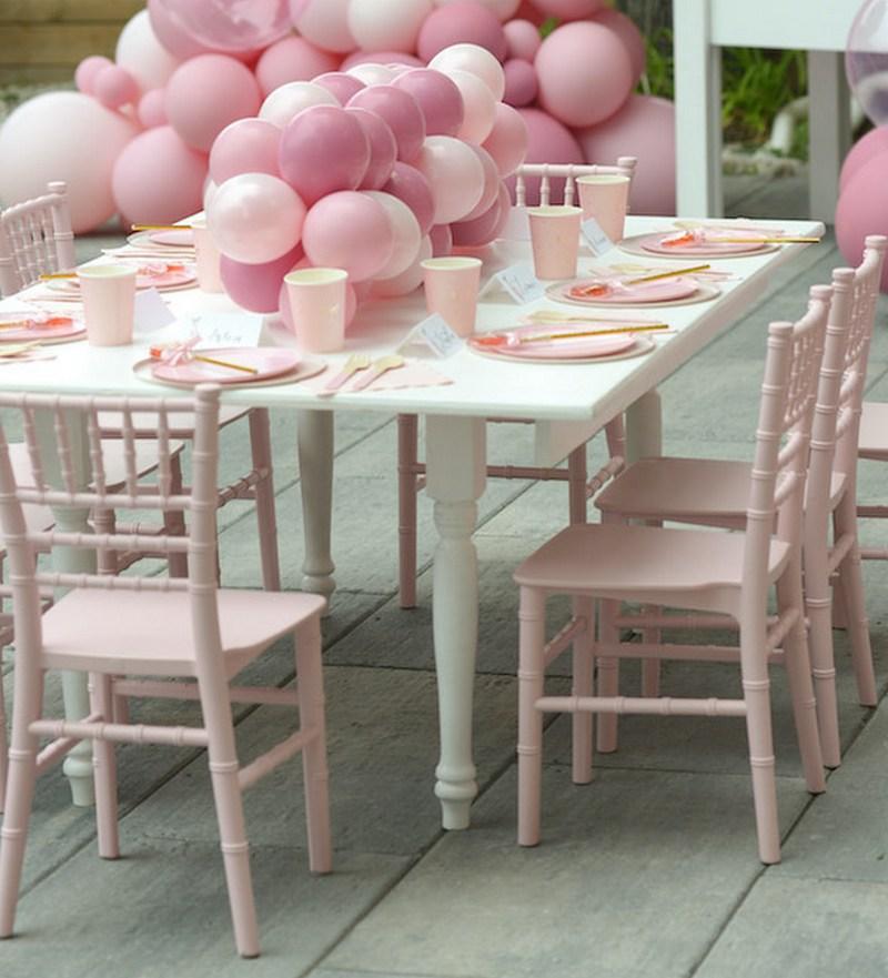 princess balerina parti asztaldekoráció