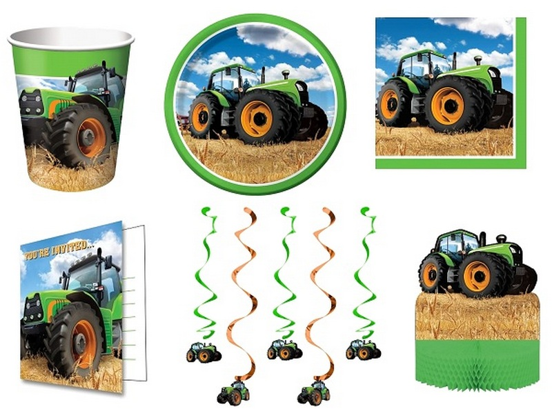 traktor party kellékek