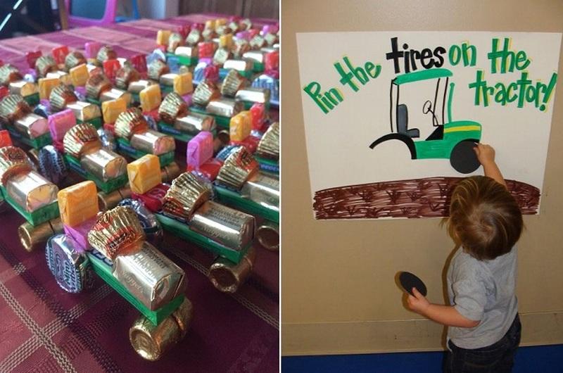 traktor party játékok