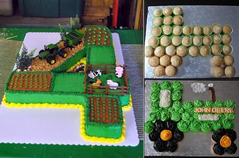 traktoros szülinapi torta