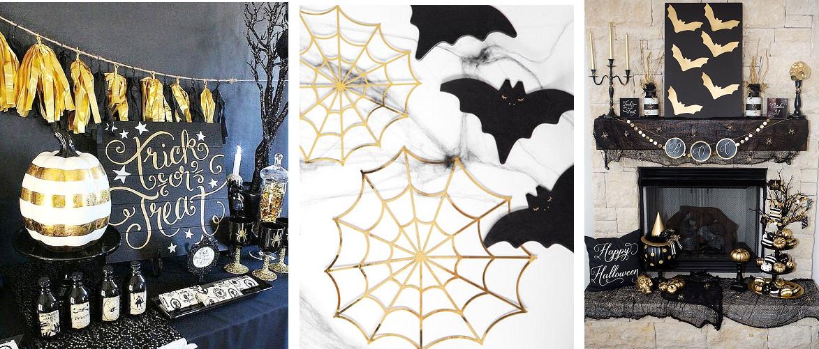 elegáns halloween dekoráció