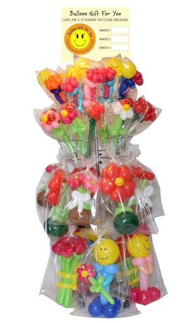 Balloon Gift tartós lufi