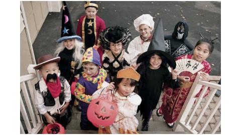 Halloween játékok gyerekeknek 2. rész